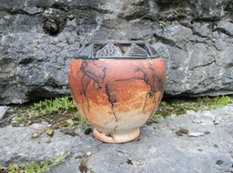 Pot With Carving